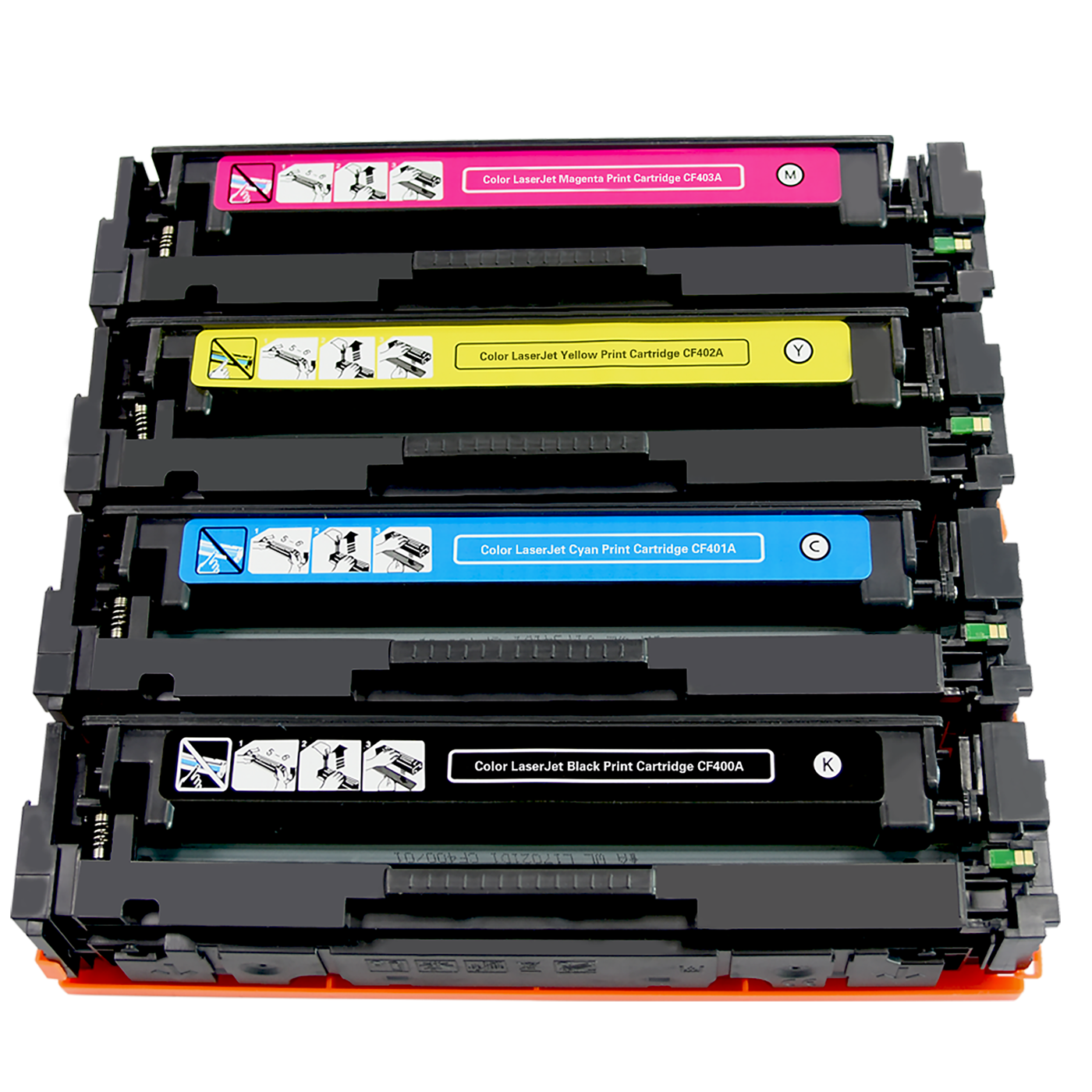 New Compatible toner cartridge 201A CF400A CF401A CF402A CF403A
