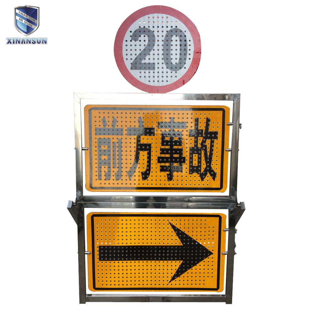 Outdoor Led Large Digital Traffic Sign Board Light