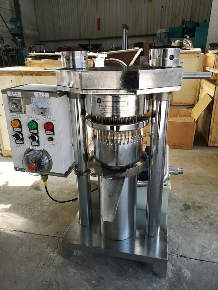 Small cocoa butter sesame oil extractor hydraulic walnut oil press machine