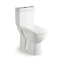Middle east wash down Lavatory Floor mounted bathroom toilet ceramic sanitary ware two piece india toilet Save water