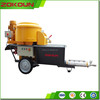 Worldwide brand motor, indoor and outdoor, wall and floor cement mortar spraying machine with MIXER