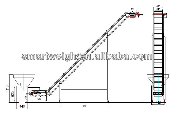 Smart Weigh steady work platform ladders customization for food packing-2
