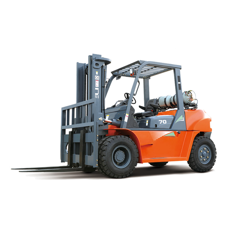 Top Brand HELI 7ton Diesel Forklift CPCD70 with 3m Lifting Height