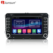 "Junsun 7 ""Android Car Multimedia player 2 Din Autoradio สำหรับ VW/Golf 5/Passat b6/ที่นั่ง leon/Tiguan/Skoda/Octavia/POLO GPS รถวิทยุ"
