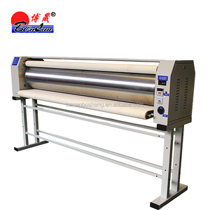Hot roller fabric sublimation printing machine calender heat press