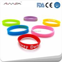 Cheap Various Sport Silicone Bracelets / Wholesale Silicone Wristbands Souvenirs