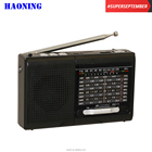 best sale OEM haoning portable am fm sw 1-7 usb tf radio speaker