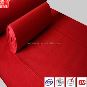 200gsm Red Carpet For Hotel/Wedding/Star/Stairs
