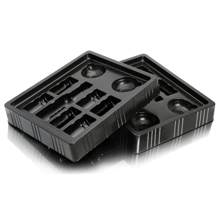 alimentaire personnalis en plastique plateau emballage sous vide plateau pour biscuits au. Black Bedroom Furniture Sets. Home Design Ideas