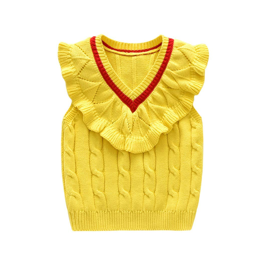 HANMAX Baby Girls Boys Children Long Sleeve Warm Thick Pullover Knitted Sweater