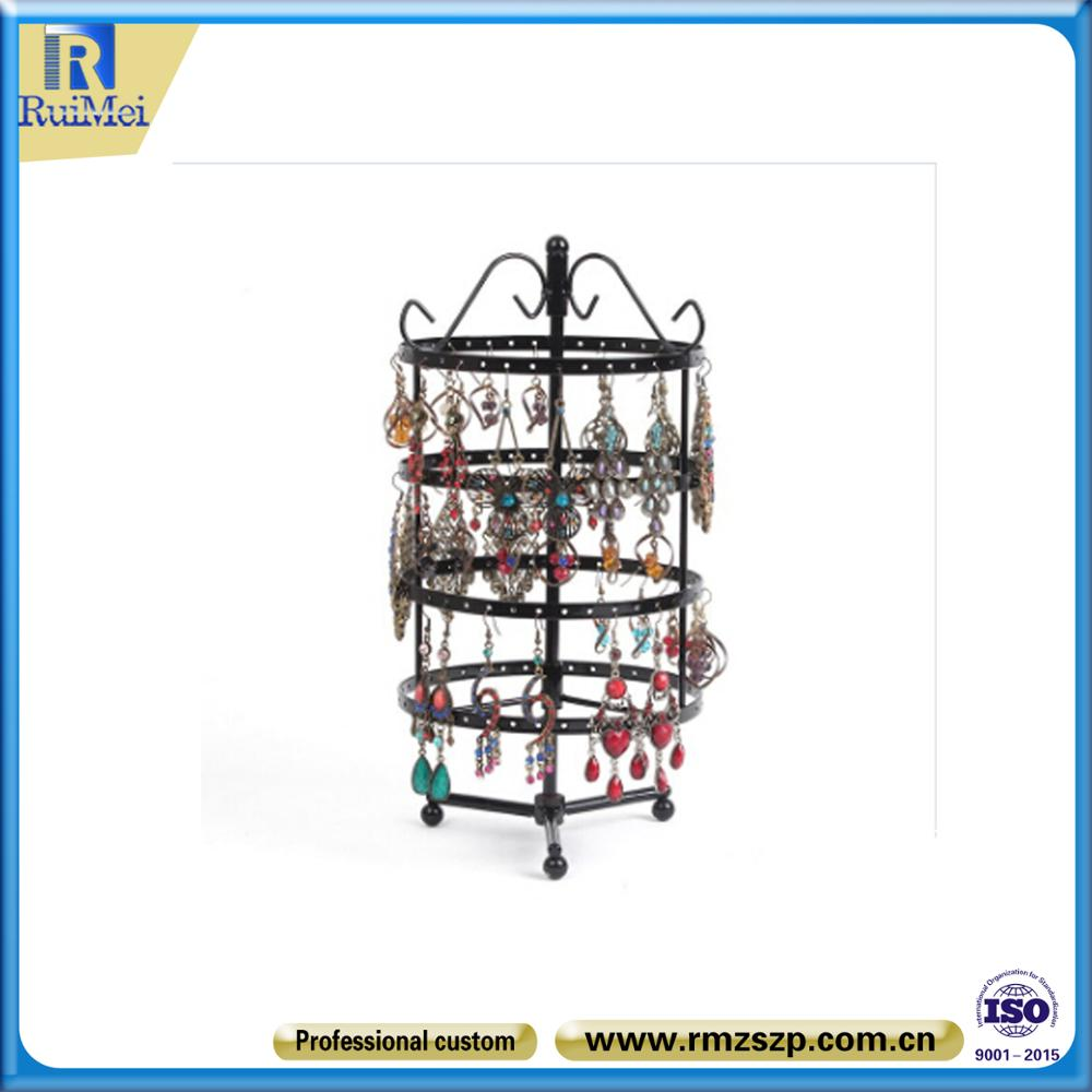 Wholesale Rotating Jewellery Display Wire Countertop Metal Jewelry ...