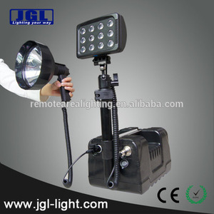 remote area lighting system rechargeable maintenance outdoor working light construction tower light 9936