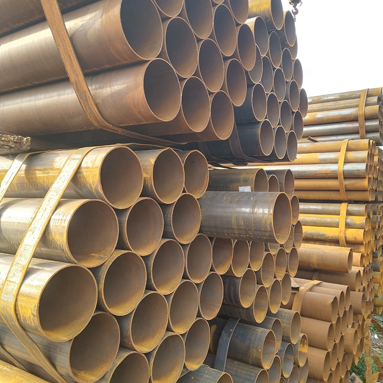 A36 SS400 Q235B Hot Rolled Carbon Steel Pipe
