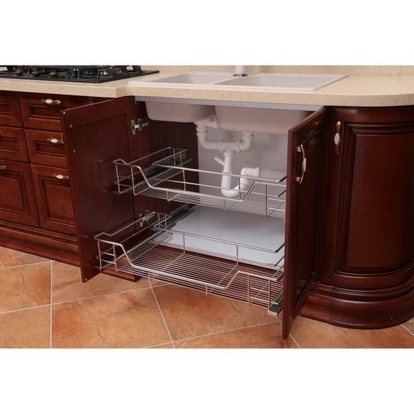 2014 oppein italia de madera sólida del gabinete de cocina modernos ...
