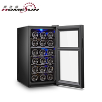 Factory price wine cooler 18 bottle wine coolers dual zone for sale