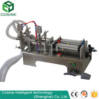 Semi automatic high precise piston pneumatic liquid filling machine