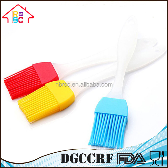 Hot Sale Food Grade Flexible Kitchen Silicone Basting Brush Pastry Brush