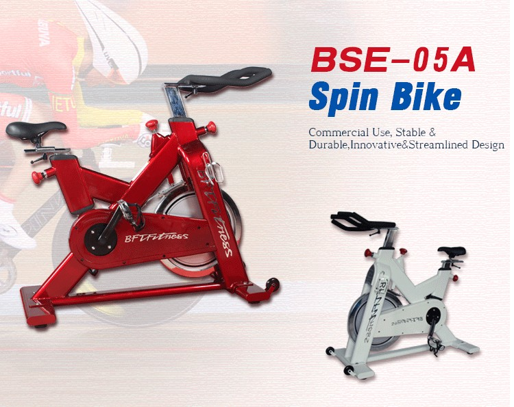 BSE05 Germany Belt Driven Spin Bikes Gym Equipment Best Exercise Spinning Bicycle Bike
