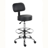 Well Medical Drafting Stool with Back