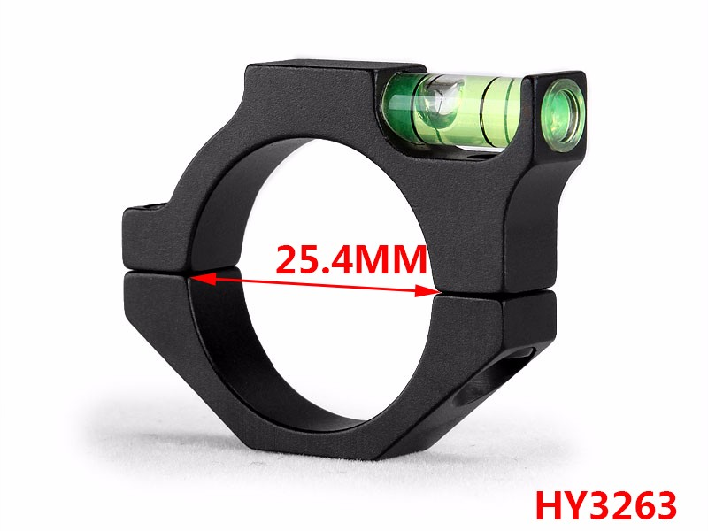 25.4/30/35/40 mm Tube Size Round Bubble Level Riflescope Ring Mounts For Airsoft /Rilfescope / AR15