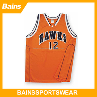 Top style cheap basketball uniforms wholesale/orange color team basketball uniforms wholesale