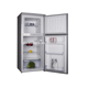 Stainless steel fridge home double door refrigerator upright freezer