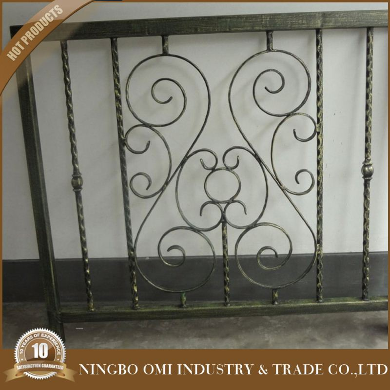 Unofficial Pic durable/gorgeous outdoor wrought iron balcony railing parts/lowes wrought iron balcony railing parts