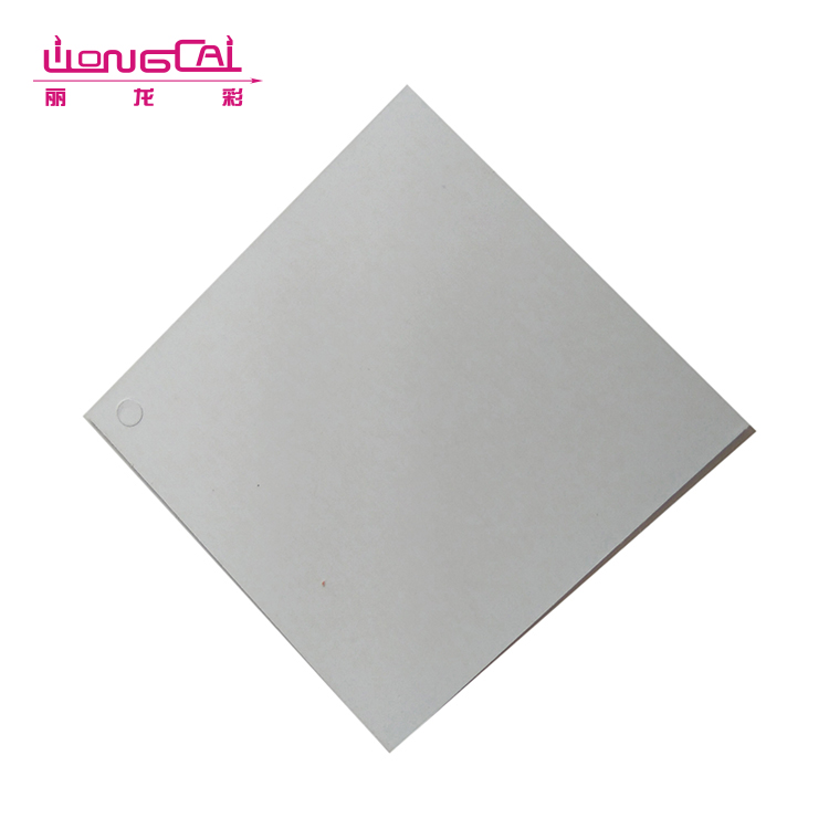 High quality wholesale square recycled hole punch china body SPA packaging hang tag