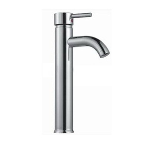 Newest design single handle extended sanitary ware wash stainless steel basin faucet bathroom