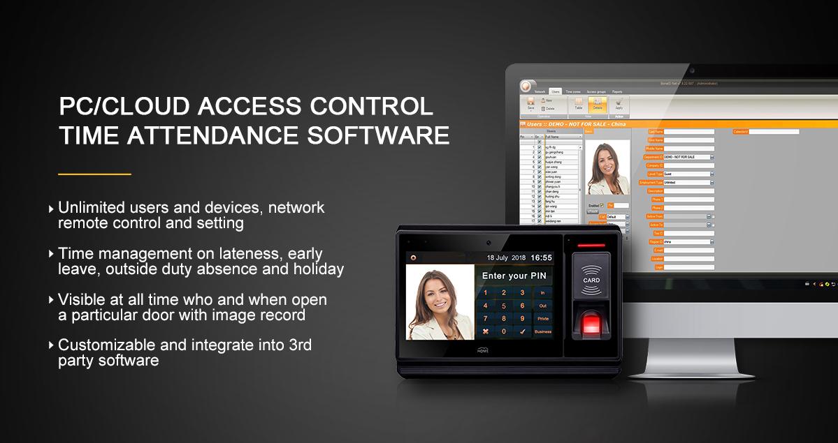 Đa ngôn ngữ 4 Gam web trực tuyến dựa trên dấu vân tay access control time attendance tính lương phần mềm với Android mã nguồn mở API