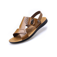 Manufacturer Direct Supply Men Beach Sandals with 360 Degrees Bend Deformation