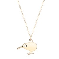 Handmade Tiny Smokeless Statement Animal Jewelry Silver Lucky Bird Pendant Necklaces For Women 2016 Jewelry wholesale