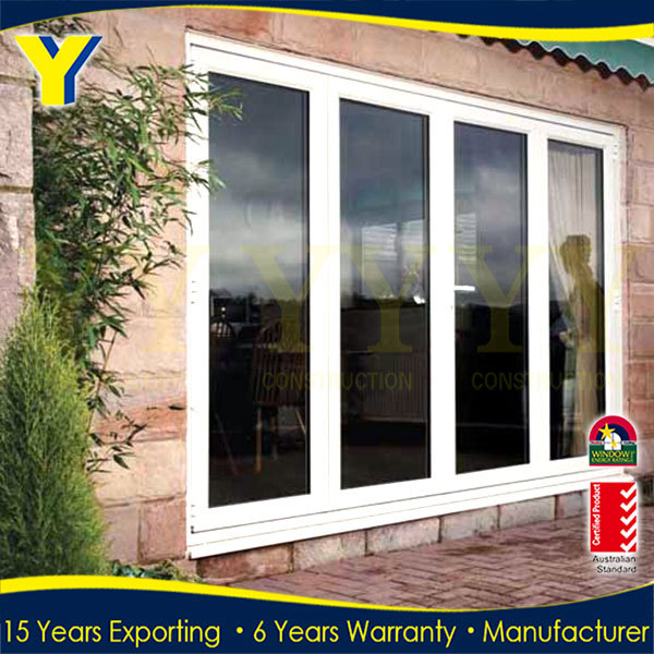 3 Panel French Patio Doors Garage Door Side Double Glaze Aluminium
