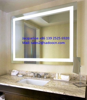 Modern Design Bathroom Electric Mirror For Hotel, Waterproof IP44