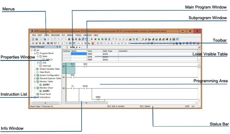 HTB1MLpMPXXXXXb9XXXXq6xXFXXXL unitronics low cost led rs485 input plc control unit with high  at bayanpartner.co
