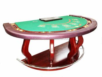 Luxury Blackjack Caribbean Poker Table Card Table Gaming Table