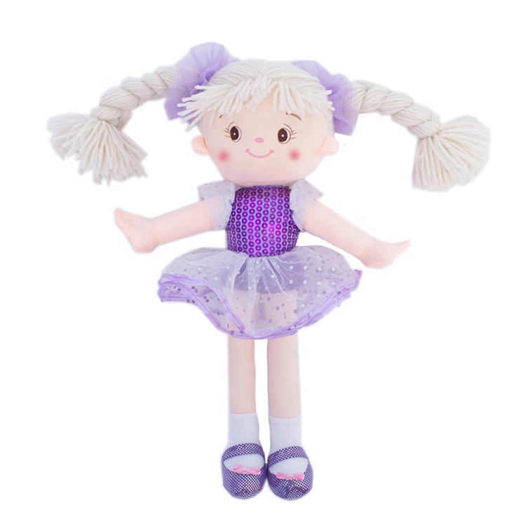 Hot sale beautiful Princess ballerina plush <strong>dolls</strong> for girls