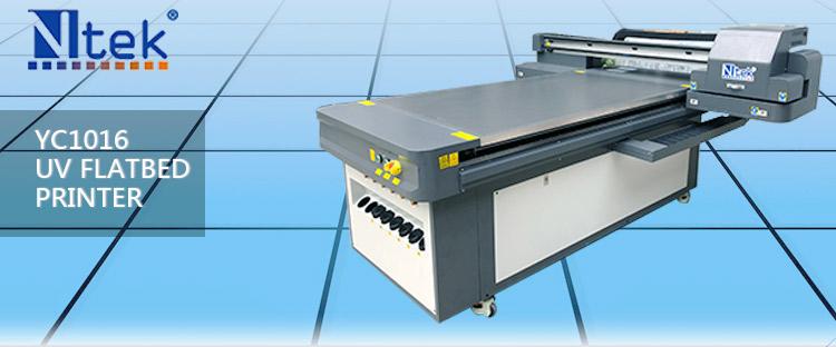 Placa de Metal plana UV impresora precio YC1016