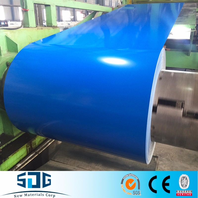 Prepainted Galvalume/Zinc Aluminium Color Coated Steel Coil for Aluminium Curtain wall