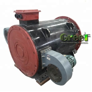 big powered 150RPM,1.6MW magnet generator used for hydro plant
