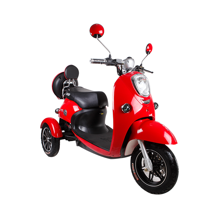 2020 Hot DDT073 Three Wheel Electric Mobility Scooter motorized tricycles for Elderly