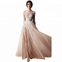 New Design Top Quality Cheap Evening Long Gown, Famous Evening Gown Designers, Women Evening Dress