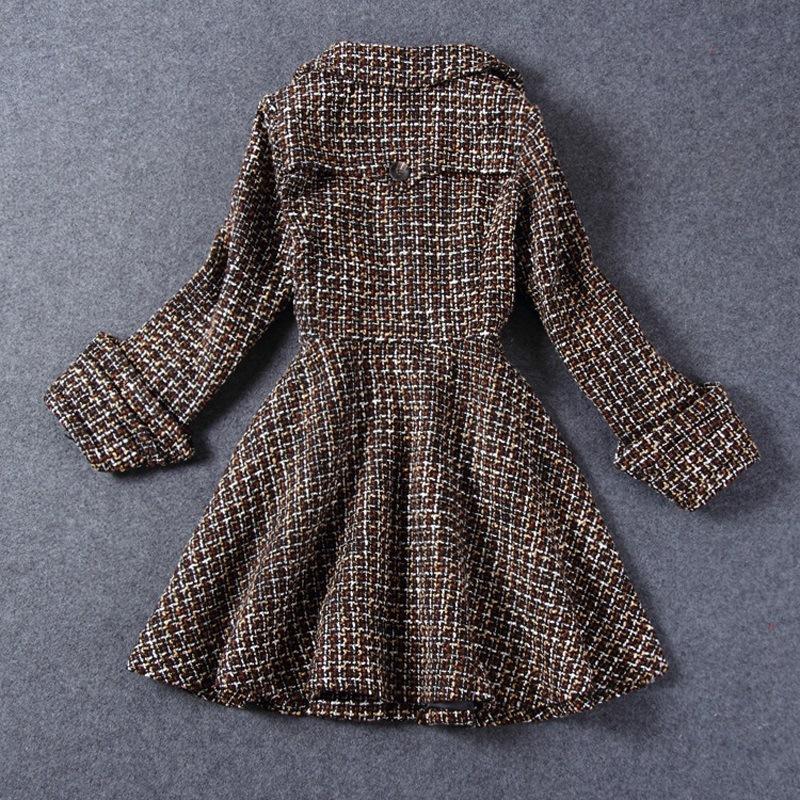 Европейский гран-при европы зима женщины в star с деньгами , чтобы провести большой качающиеся грубой шерстяная ткань пальто куртка и длинная участки