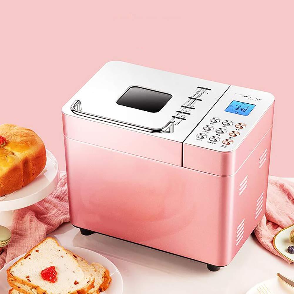 LJ-MBJ Fully Automatic Bread Baking Machine, Household Intelligent Multifunction Breadmaker Toaster, Breakfast Machine, Dough kneading Machine-A