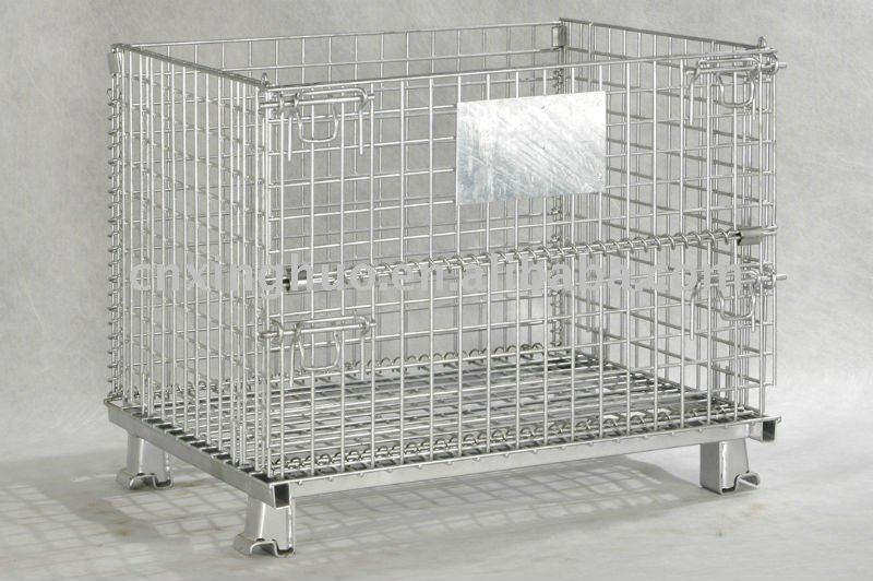 WIRE CAGE/PALLET CAGE/WIRE MESH CONTAINER