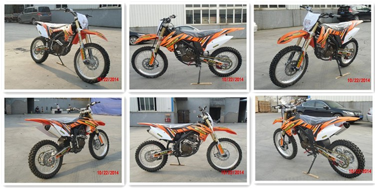 New Design Upset Shock Absorber 250cc Four-stroke Motorcycle