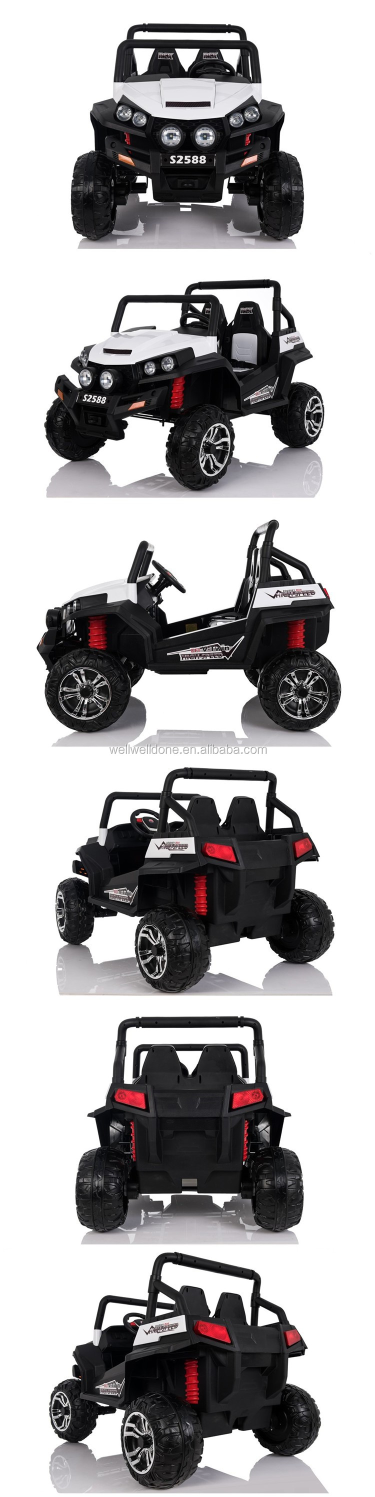 Newest two seats big jeep ride on car, with super suspension WDS2588