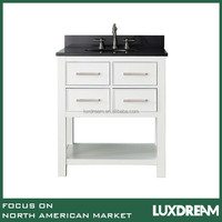 30 inch white bathroom vanity with granite top