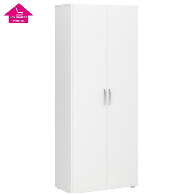 unique melamine MDF/MFC modern 2 door shoe cabinet