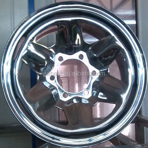 the factory truck chrome front wheel